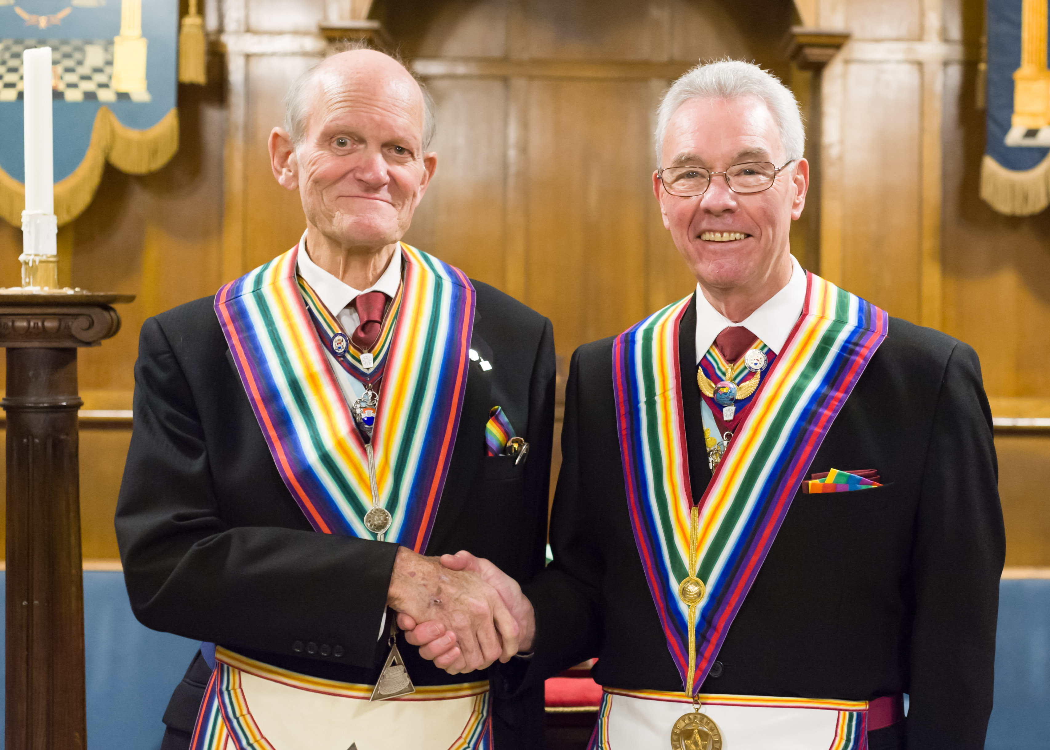 A new Commander at the Helm as Abbey Lodge of RAM No. 768 sails into 2019